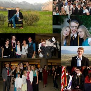 Devin's senior year, seminary graduation, and high school graduation