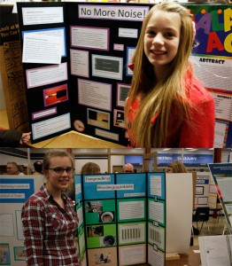 When your dad is a scientist, science fair projects are a lot of fun time with dad.
