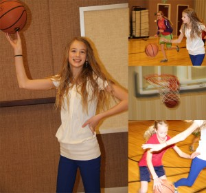Sister ball. And the youngest is the most competitive.